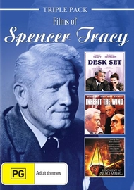 Spencer Tracy - Triple Pack on DVD