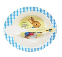 Peter Rabbit - Bowl & Spoon Set