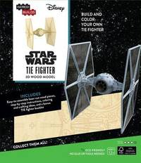 Incredibuilds: Star Wars: Tie Fighter 3D Wood Model by Michael Kogge