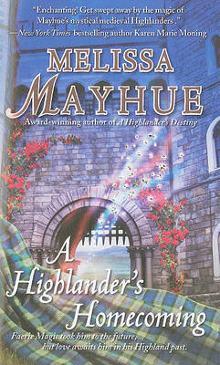 A Highlander's Homecoming by Melissa Mayhue image