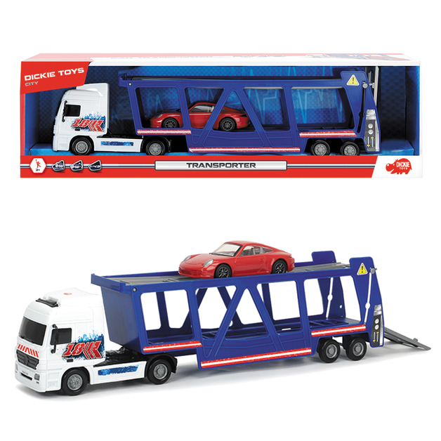 Dickie Car Transporter with Car