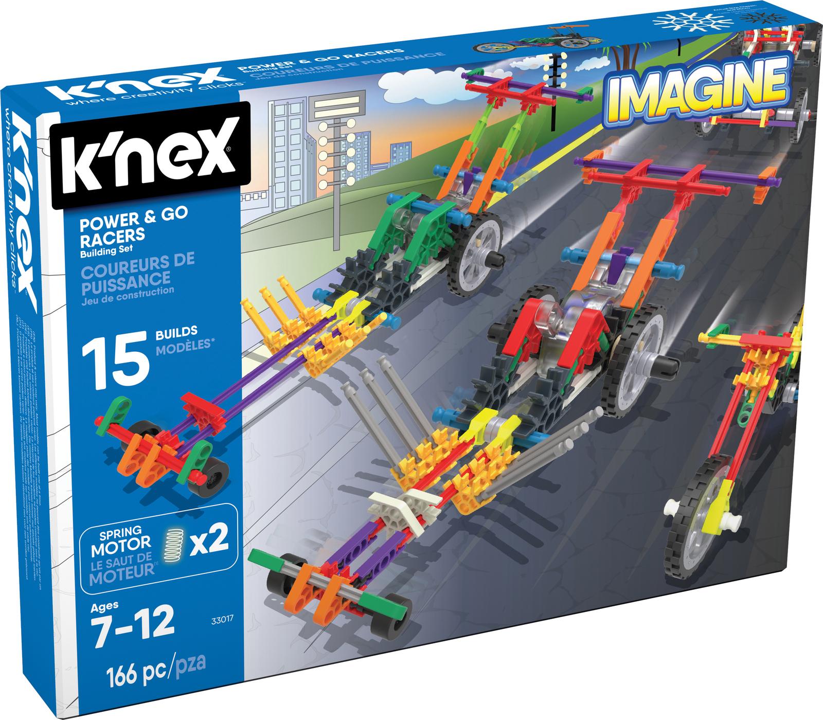 K'Nex: Imagine - Power & Go Racer Set (33017) image