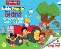 Fisher-Price: Little People Giant Colouring and Activity Pad image