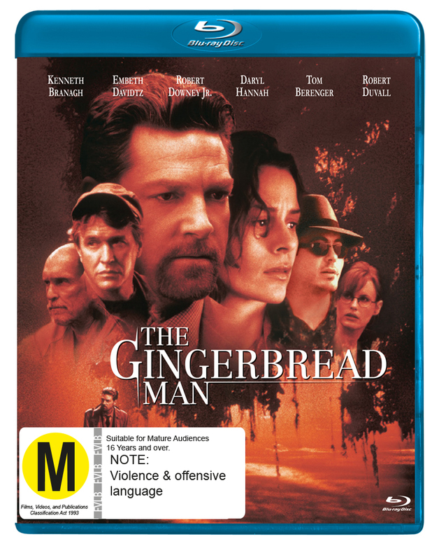 The Gingerbread Man on Blu-ray
