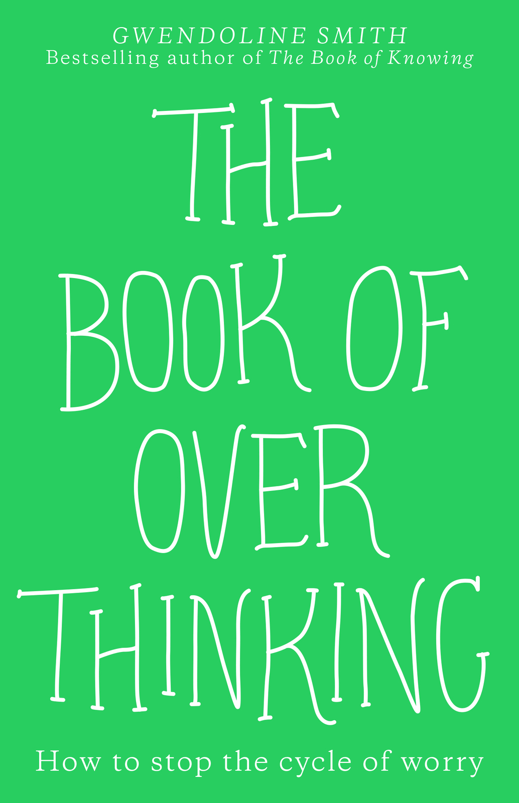 The Book of Overthinking by GWENDOLINE SMITH image