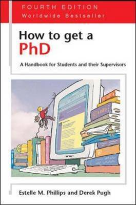 How to Get a PhD by Estelle Phillips image