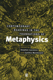 Contemporary Readings in the Foundations of Metaphysics image