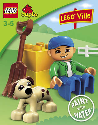 Lego Duplo: Paint with Water Book W34 by LEGO Books