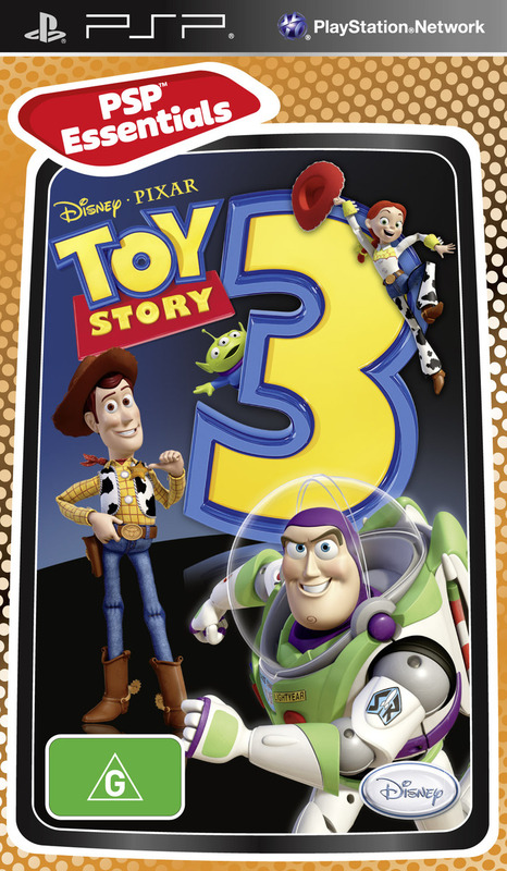 Toy Story 3: The Video Game (Essentials) for PSP