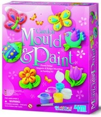 4M: Mould & Paint Kits - Garden