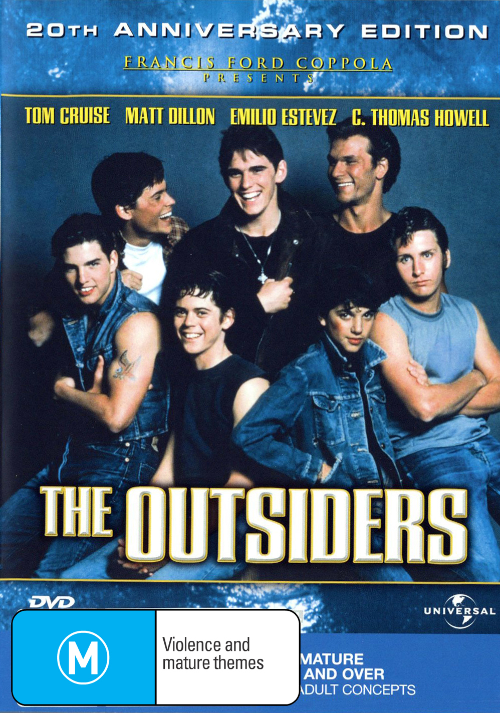 The Outsiders on DVD image