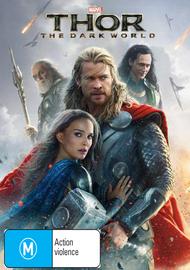 Thor: The Dark World on DVD