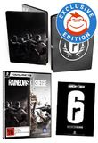 Tom Clancy's Rainbow 6 Siege Steelbook Edition for PC Games