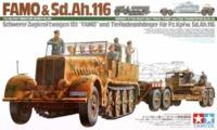 Tamiya: 1/35 Famo & Transporter - Model Kit