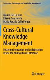 Cross-Cultural Knowledge Management by Manlio del Giudice