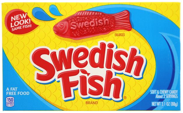 Swedish Fish Red Theater Box (88gm)