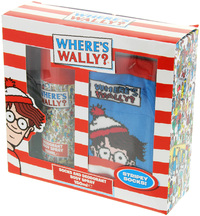 Where's Wally - Sock & Deodorant (150ml)