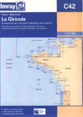 Embouchure De La Gironde to Bordeaux and Arcachon by Imray image