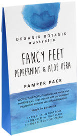 Organik Botanik Splotch - Fancy Feet Treatment Pack (Peppermint)