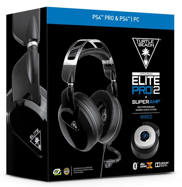 Turtle Beach Elite Pro 2 + Superamp Gaming Headset - Black for PS4
