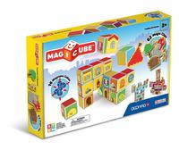 Magicube: Castles & Homes - Magnetic Construction Set