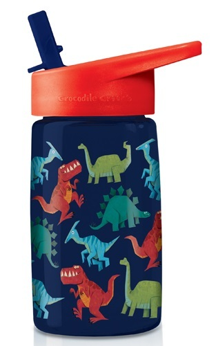 Crocodile Creek: Tritan Drink Bottle - Dinosaurs (470ml)