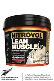 BSc Bodyscience NITROVOL Lean Muscle White Chocolate (1500g)