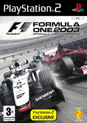 Formula One 2003 for PlayStation 2