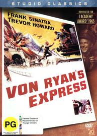 Von Ryan's Express on DVD image