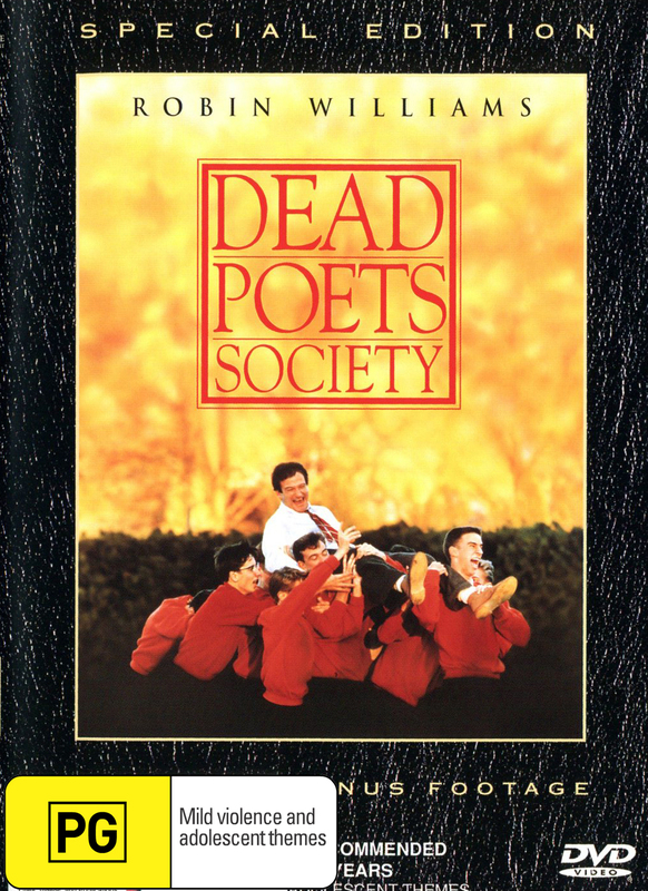 Dead Poets Society SE on DVD