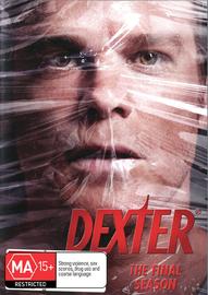 Dexter - The Final Season on DVD