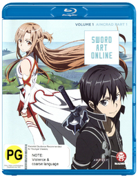 Sword Art Online Vol. 1: Aincrad Part 1 on Blu-ray