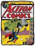 Superman Action Comics Fleece Blanket
