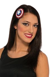 Captain America Hair Clip