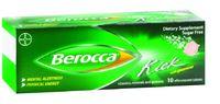 Berocca Kick Sugar Free Effervescent Tablets (10 Pack)