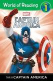 World of Reading This Is Captain America by Disney Book Group