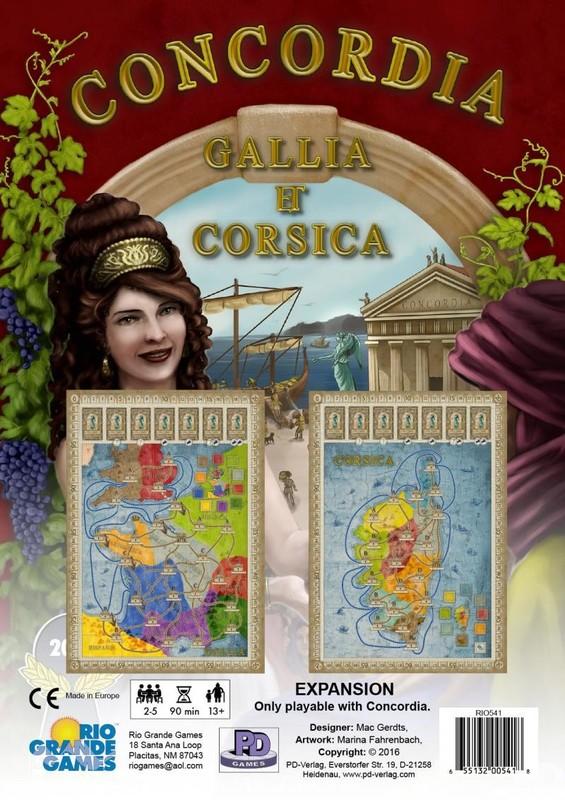 Concordia: Gallia / Corsica - Expansion Set
