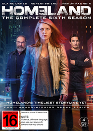 Homeland - Season 6 on DVD image