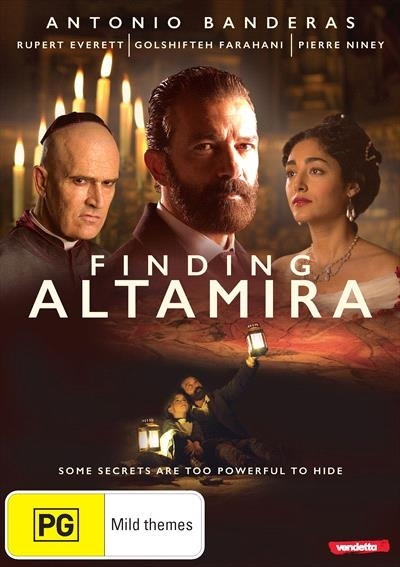 Finding Altamira on DVD image