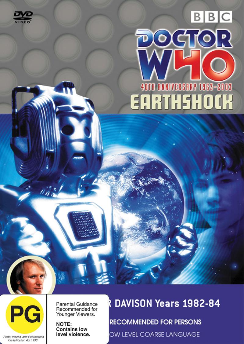 Doctor Who: Earthshock on DVD image