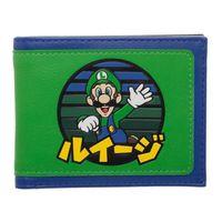 Super Mario: Luigi Kanji - Bi-Fold Wallet