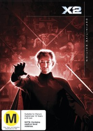 X-Men 2 - Definitive Edition (2 Disc Set) on DVD image