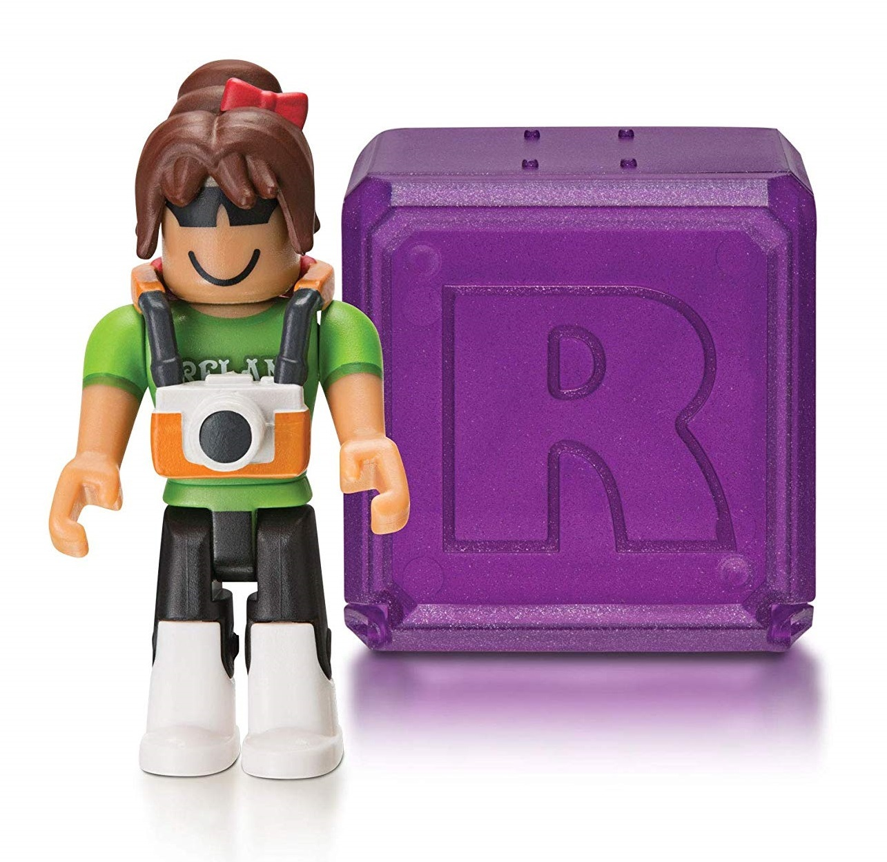 Details About Roblox Celebrity Collection Series 3 Mystery Pack Purple Cube - Roblox Celebrity Mystery Figure Series 3 Blind Box