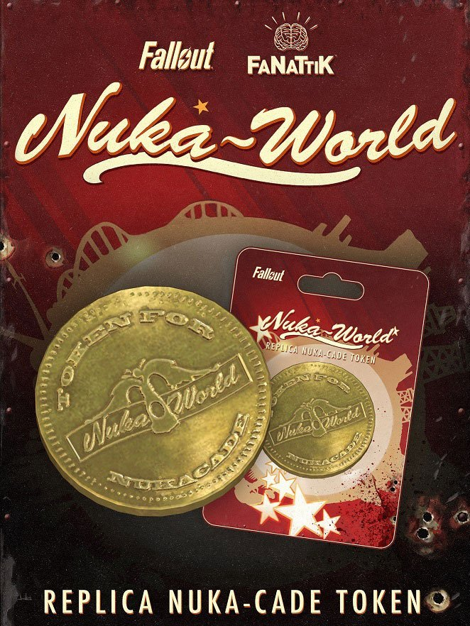 Fallout: Collectable Coin - Nuka-Cade Token image