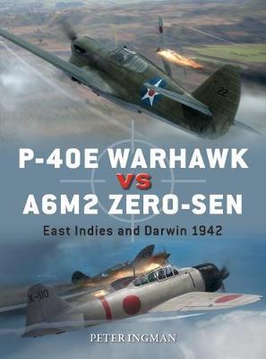 P-40E Warhawk vs A6M2 Zero-sen by Peter Ingman