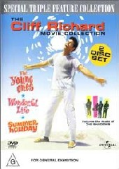 Cliff Richard Collection (Young Ones/Summer Holiday/Wonderful Life) on DVD