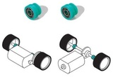 Scalextric SP Ball Race Bearings