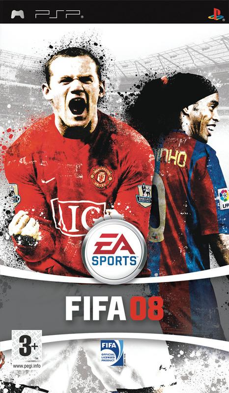 FIFA 08 for PSP