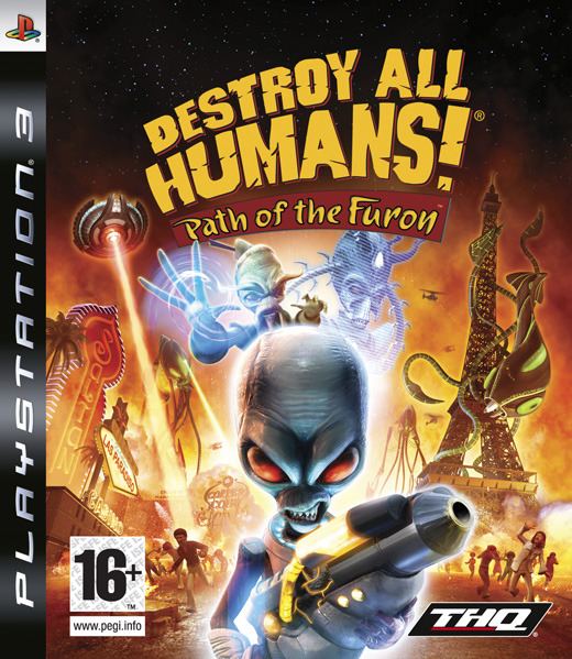Destroy All Humans! Path of the Furon for PS3