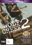 Wolf Creek 2 DVD